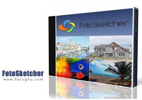 نرم افزار FotoSketcher
