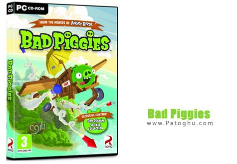 دانلود بازی بسیار مهیج خوک های بد Bad Piggies 1.1.0
