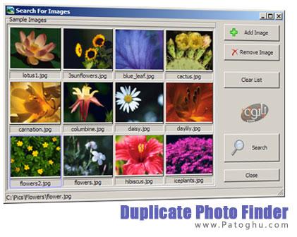 جستجو و شناسایی تصاویر تکراری با نرم افزار Duplicate Photo Finder 3.0.0.19
