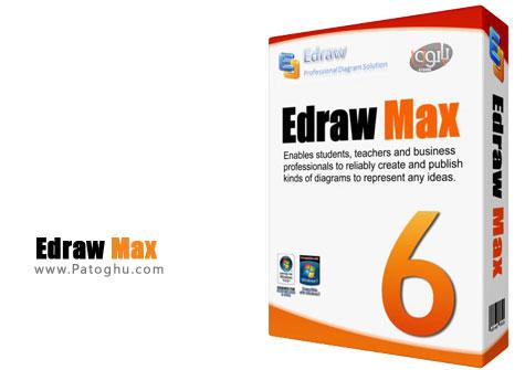 طراحی انواع فلوچارت و نمودار سازمانی با نرم افزار Edraw Max v6.8.0.2400