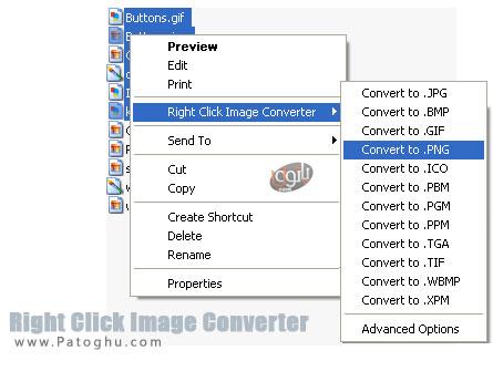 تبدیل فرمت عکس با یک کلیک توسط نرم افزار Right Click Image Converter v2.2.3