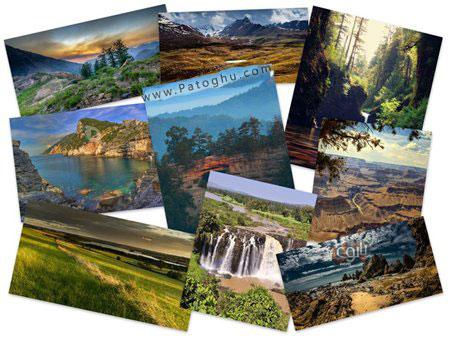 دانلود مجموعه 50 پس زمینه از طبیعت با کیفیت HD