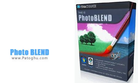 مونتاژ حرفه ای تصاویر با نرم افزار Photo BLEND 3D 1.5.1 Final