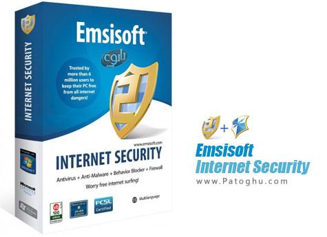 امنیت مطلق در سیستم شما با نرم افزار امنیتی و قدرتمند - Emsisoft Internet Security Pack 7.0.0.12