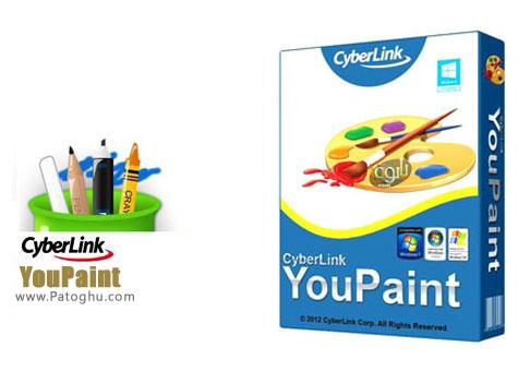 نرم افزار نقاشی حرفه ای با CyberLink YouPaint 1.5.0.4713