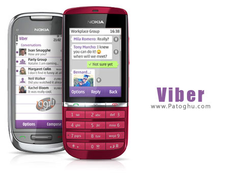 ارتباط رایگان در گوشی های نوکیا با Viber 2.01 - سیمبیان S60v5 S^3