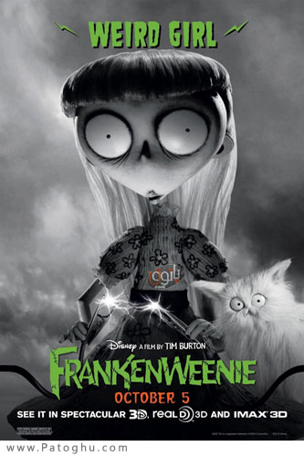 دانلود  انیمیشن اکشن و مهیج Frankenweenie 2012