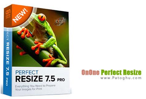 بزرگ کردن عکس بدون افت کیفیت با نرم افزار OnOne Perfect Resize 7.5