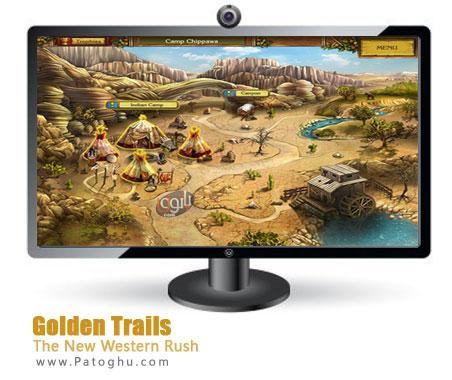 دانلود بازی فکری و فوق العاده سرگرم کننده Golden Trails: The New Western Rush