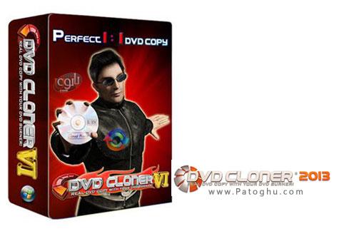 کپی و رایت DVD با نرم افزار کامل و حرفه ای DVD-Cloner 2013 v10.10