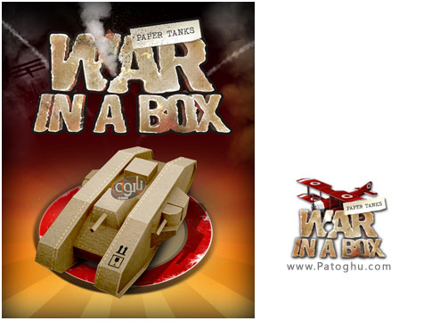 دانلود بازی مهیج و کم حجم جنگ تانک ها - War In A Box Paper Tanks
