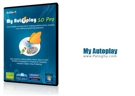 ساخت آتوران حرفه ای My Autoplay Professional v10.1 Build 28012013D