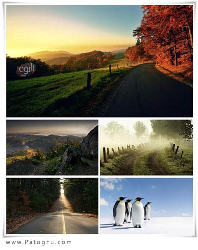دانلود مجموعه والپیپر بسیار زیبا و متنوع برای دسکتاپ - Gdenfo Wallpaper Pack