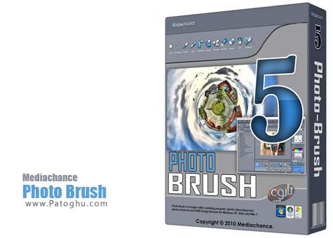 دانلود نرم افزار براش و ویرایش تصویر Photo Brush 5.30