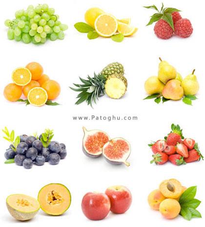 تصاویر استوک بسیار زیبا از میوه ها