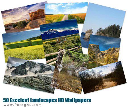 دانلود مجموعه 55 پس زمینه زیبا از مناظر با کیفیت Hd - 50 Excelent Landscapes HD Wallpapers