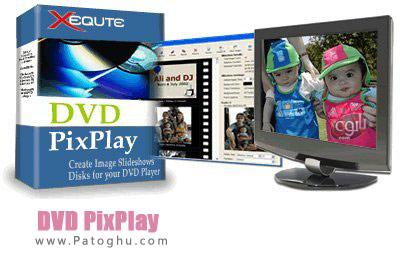 ساخت اسلاید شو و رایت روی دی وی دی با نرم افزار DVD PixPlay 7.05.330