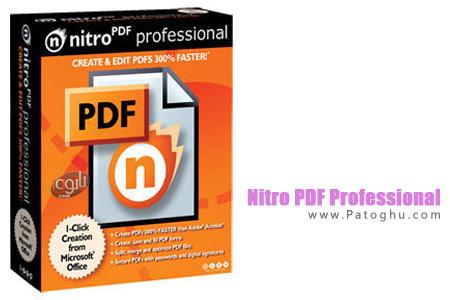 داونلود فول ورژن آخرین و تازه ترین ورژن نرم افزار ساخت و ویرایش فایل های پی دی اف Nitro PDF Professional 7.3.1.4