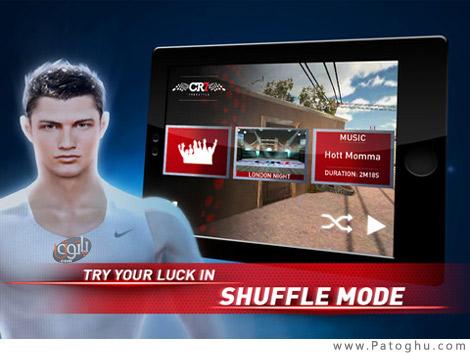 دانولد بازی کریستیانو رونالدو برای آندروید Cristiano Ronaldo Freestyle V 1.0