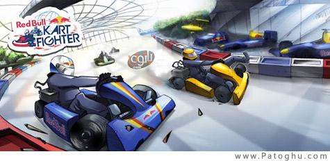 دانلود بازی رالی جذاب برای آندروید Red Bull Kart Fighter WT