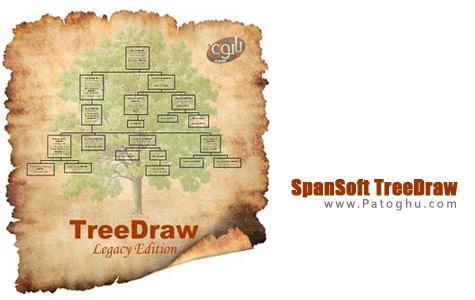 ساخت شجره نامه با نرم افزار SpanSoft TreeDraw v4.0.3
