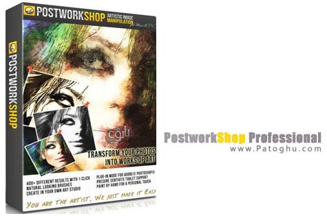 تبدیل عکس به نقاشی با نرم افزار PostworkShop Professional 3.0.4823