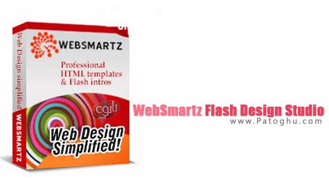 ساخت فلش و بنر و اسلاید شو های فلش با نرم افزار WebSmartz Flash Design Studio 3.0