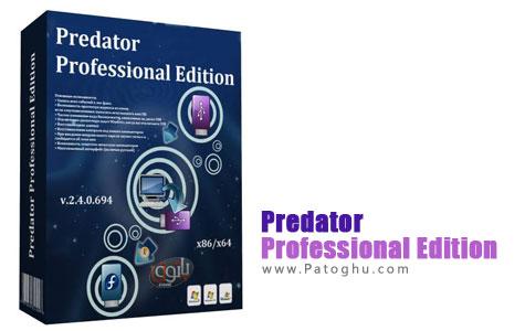 قفل کردن کامپیوتر از طریق فلش USB با نرم افزار Predator Professional Edition v2.4.0.694