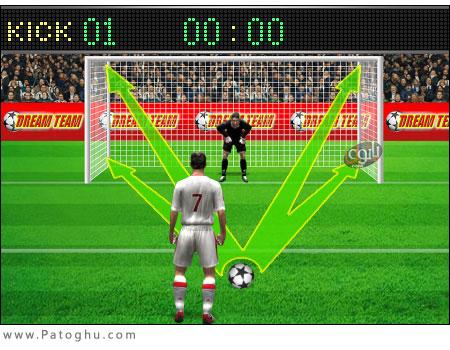 دانلود بازی بسیار زیبا و جذاب ضربات پنالتی Football Penalty 1.03 – اندروید
