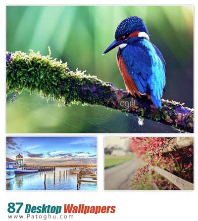 دانلود مجموعه ۸۷ والپیپر با کیفیت برای دسکتاپ - Desktop Wallpapers