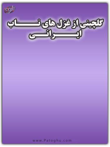 دانلود کتاب گلچینی از غزل های ایرانی