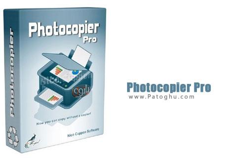 فتوکپی توسط کامپیوتر با نرم افزار Photocopier PRO 4.04
