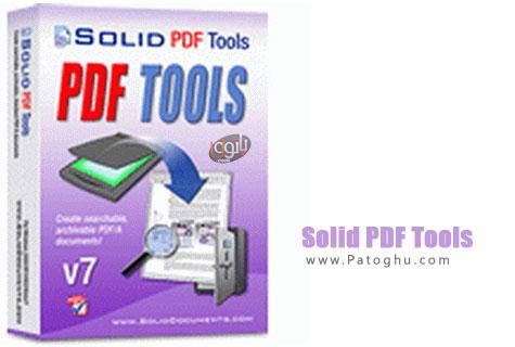 تبدیل و ساخت فایل های پی دی اف با نرم افزار Solid PDF Tools 7.3 build 2024