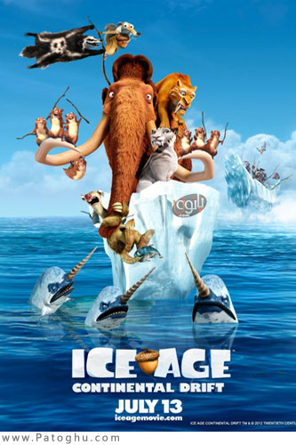 دانلود انیمیشن عصر یخبندان 4 - Ice Age: Continental Drift 2012