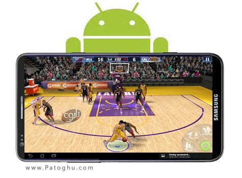دانلود بازی بسکتبال حرفه ای آندروید - NBA 2K13 1.0.6