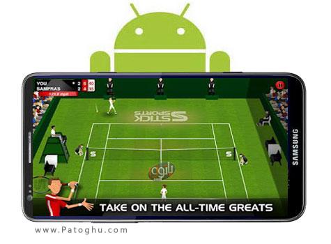 دانلود بازی جذاب تنیس Stick Tennis 1.1.1 - آندروید