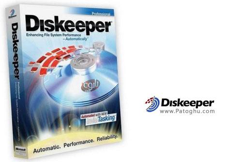 قویترین نرم افزار دفرگ و یکپارچه سازی سریع هارد دیسک با ورژن جدید Diskeeper 2012 v16.0.1017 Pro