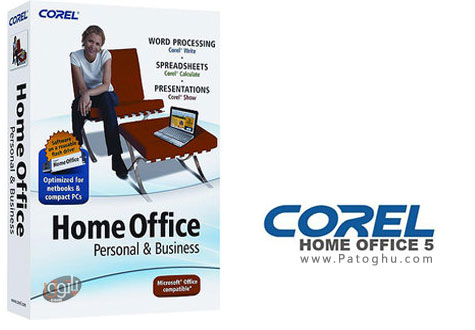 دانلود مجموعه آفیس شرکت کورل - Corel Home Office v5.0.120.1522
