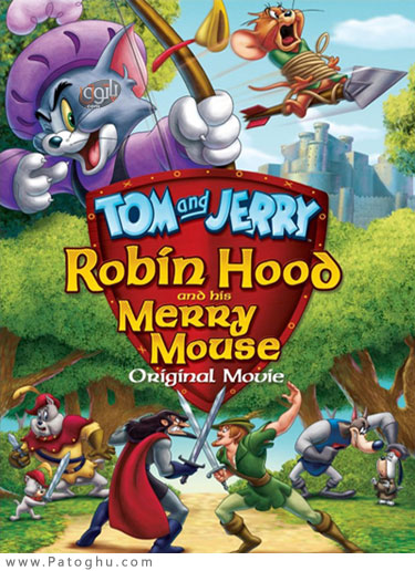 دانلود انیمیشن تام و جری و رابین هود - Tom And Jerry Robin Hood And His Merry Mouse 2012