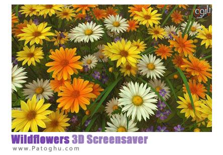 دانلود اسکرین سیور بسیار زیبای Wildflowers 3D Screensaver
