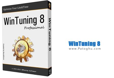 بهینه سازی و افزایش سرعت و کارایی ویندوز 8 با نرم افزار WinTuning 8 Pro v1.01