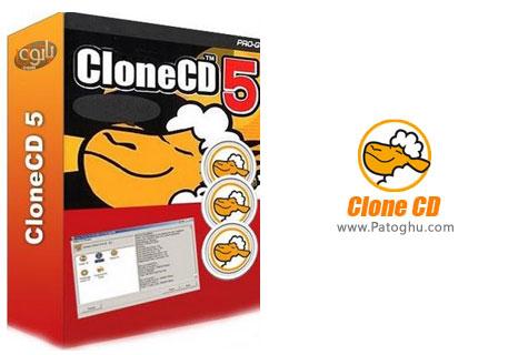 رایت انواع سی دی و دی وی دی با نرم افزار CloneCD 5.3.1.7 Beta