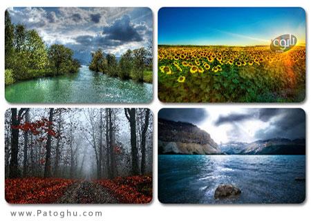 دانلود مجموعه پس زمینه دیدنی و بی نظیر از طبیعت