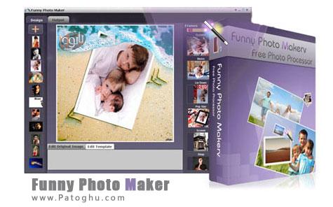 فریم گذاری و افکت گذاری روی عکس ها با Funny Photo Maker 1.17