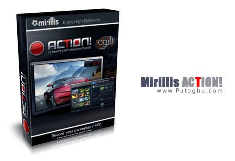 فیلم برداری از صفحه نمایش و بازی ها با نرم افزار Mirillis Action!