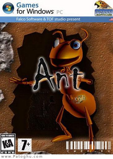 دانلود بازی کم حجم و فکری مورچه ANT 2012
