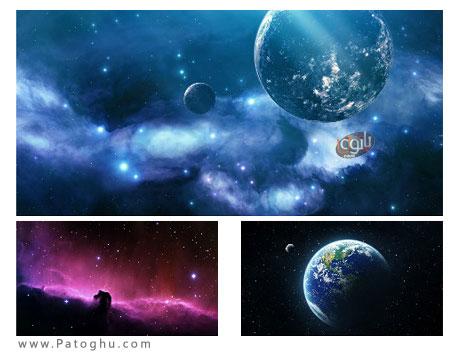 دانلود مجموعه 35 پس زمینه زیبا با عنوان Wonderful Space HD Wallpapers