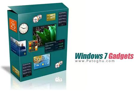دانلود مجموعه گدجت های کاربردی ویندوز سون Windows 7 Gadgets