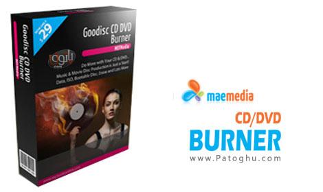رایت و ریپ آسان CD و DVD با نرم افزار MAEMedia Goodisc CD DVD Burner 2.1.3