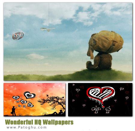 مجموعه 55 پس زمینه ویندوز رنگارنگ و زیبا Wonderful HQ Wallpapers
